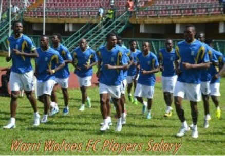 Warri Wolves FC Players Salary and Current Contract Details