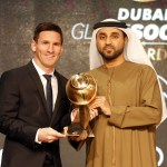 Messi wins 2015 Globe Soccer Awards – Beat Out CR7 & Buffon