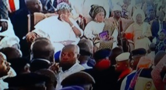 OONI OF IFE Coronation ceremony of new monarch underway