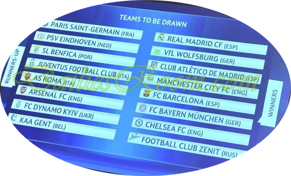 UEFA Champions League Round 16 draw - LIVE Draw