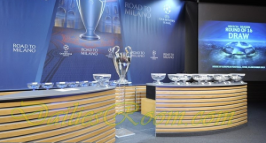 UEFA Champions League Round 16 draw - LIVE Draw