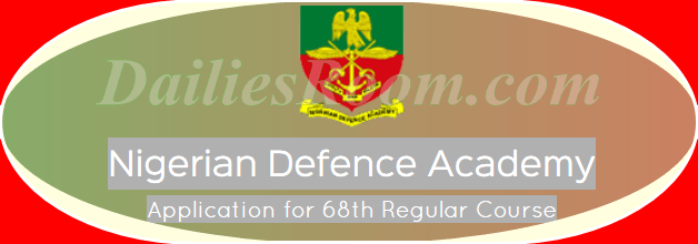 NDA 68th Regular Course Examination Date And Other Details