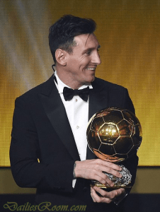 2015 FIFA World Best Player Award Winner - 2015/2106 FIFA Ballon d'Or Night Winners