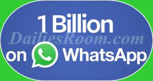 Facebook CEO Mark Zuckerberg celebrates Whatsapp one billion users