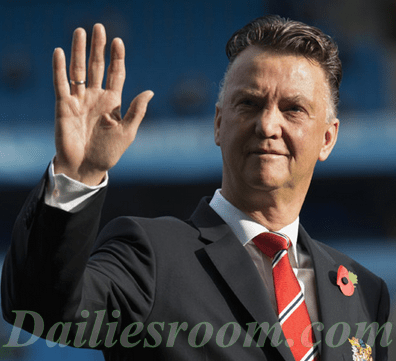 Louis Van Gaal blames Murphy law For Man United loss