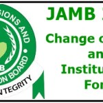 JAMB Change of Course and Institution Form 2016 now Selling
