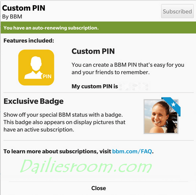 How to Create a BBM Custom PINs