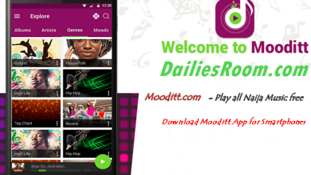 Download Mooditt App - banner