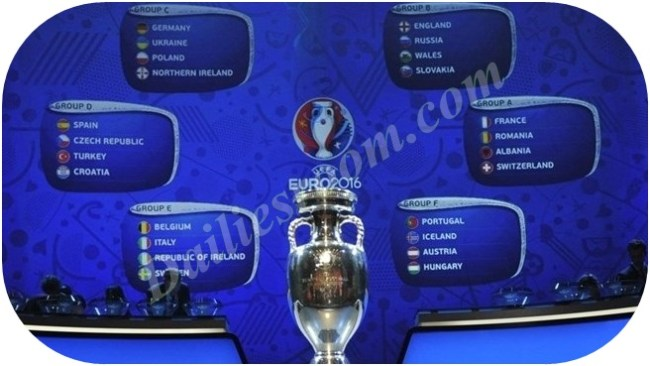 UEFA EURO 2016 Draw made in Paris - France (hosts) and Spain (holders)
