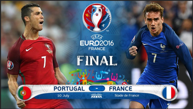 UEFA EURO 2016 Final, Portugal vs France - Euro 2016 Golden Boot - Griezmann, Ronaldo