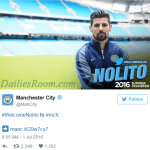 Manchester City complete Nolito signing from Celta Vigo – Guardiola second signing for City
