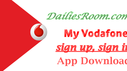 Vodafone sign up, sign in, My Vodafone App Download - buy credit online,