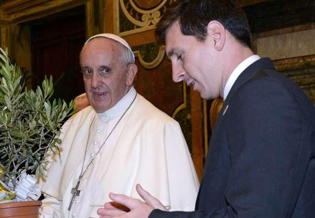 Pope Francis Choose Between Messi, Ronaldo, Maradona and Pele As World Best footballer
