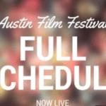 2016 Austin Film Festival Full Schedule Announce – AFF Full Film & Schedule 2016