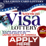 Official VISA Lottery Application Form for USA, Canadian Indian To Australian