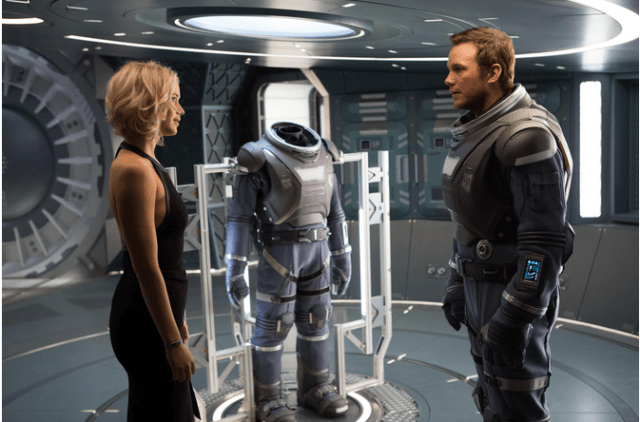 Watch 'Passengers' Trailer With Chris Pratt and Jennifer Lawrence