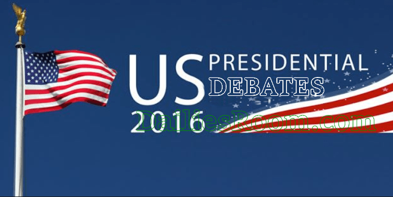 2016 USA Presidential Debate Schedule (Time & Date) TV Channels and Live Streaming