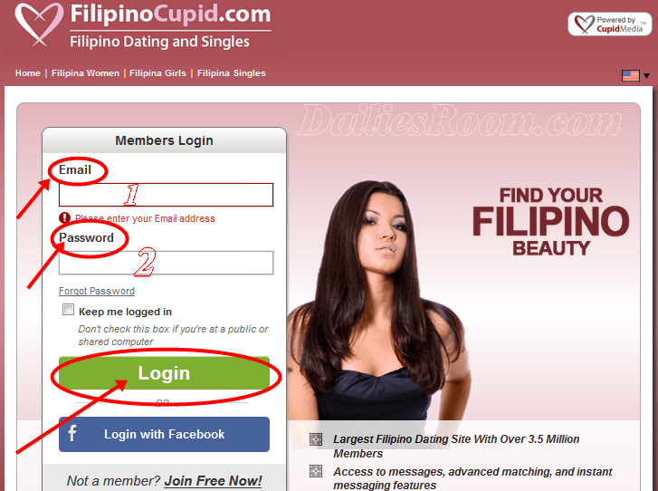 Dating site cupid.com