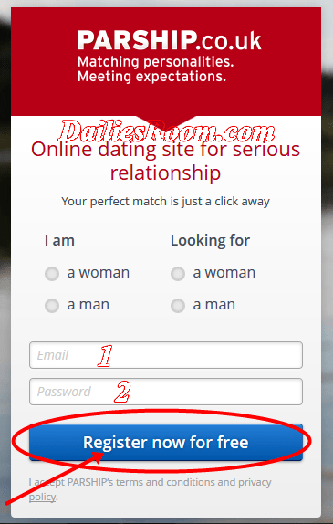 dating.com uk login email login site