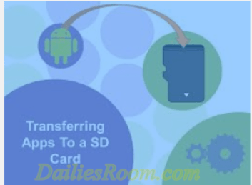 How to Move Android Apps to SD Card - micro-SD - internal memory