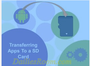 How to move android apps to sd card micro sd internal for Rearrange my room app
