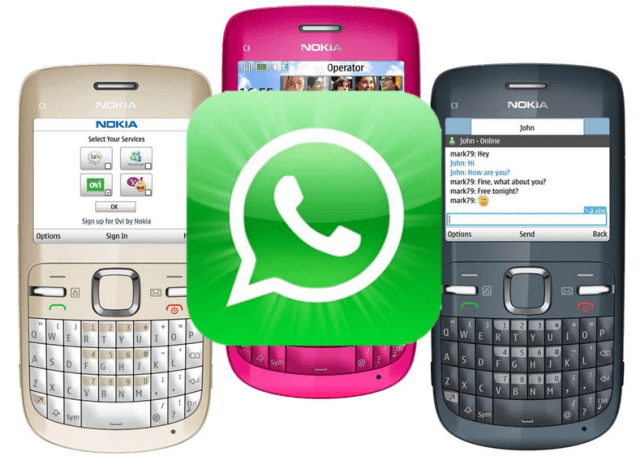 How To Get Free WhatsApp for Nokia S40 and S60 Device