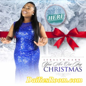 "Download Jekalyn Carr's ""You are our joy Christmas"" | www.Gmusicplus.com"