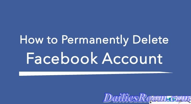 How to Permanently Delete Facebook Account on Mobile device