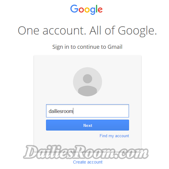 Gmail Account Login Home Page For Gmail Email Login