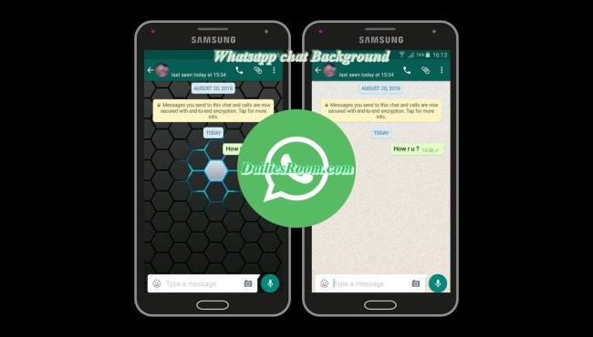 How to Change Whatsapp Chat Background | Customizing Whatsapp background