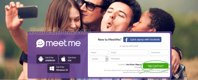 How To Sign Up MeetMe, MeetMe Registration – meetme.com sign up / Meetme App