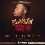 Olamide Live in Concert 3 holds December 26th in Lagos – OLIC 3 – Drops Album same day