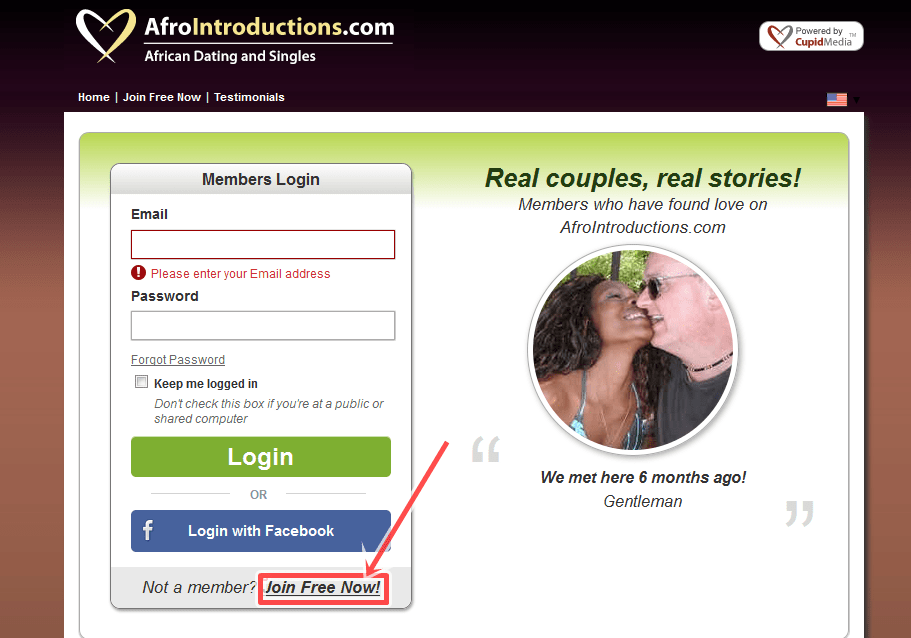 Www afrointroductions com account