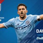 "David Villa wins MLS MVP award : ""I'm very proud to receive this award"""