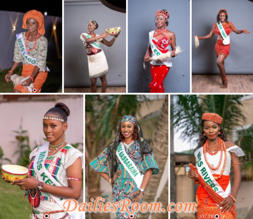 Miss Nigeria 2016 pageant for 40th Edition - 38 Contestants unveiled