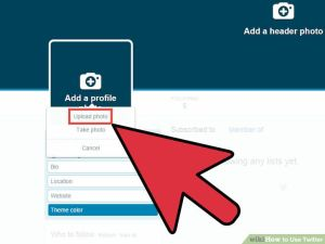 How to Upload twitter Profile Picture using Computer | Twitter identity