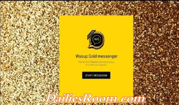 How to download Wasup Gold Messenger app free on android - Wasup messaging app