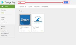 How to Download Zoto App free on Android - Mobile Recharge