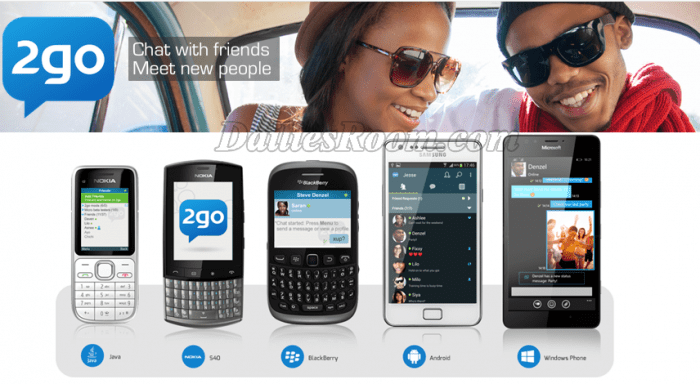 2go dating site in south africa