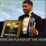 CAF Awards 2016: Riyad Mahrez Winner of African Player of the Year 2016