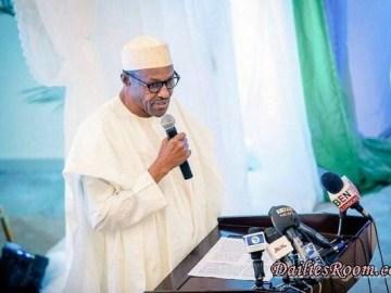 President Muhammadu Buhari's 2017 New Year Message to Nigerians - Calls for Peace