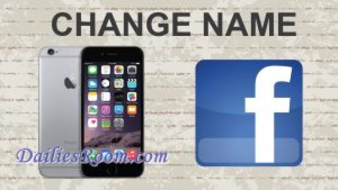 How to Change Your Facebook Profile Name on mobile device | Adding other Names
