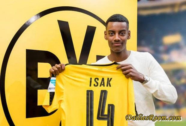 Borussia Dortmund signs Alexander Isak as the next Zlatan Ibrahimovic