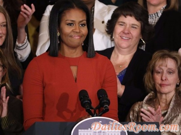 """Michelle Obama Final remarks as first lady : """"Hope i have made you Proud"""""""
