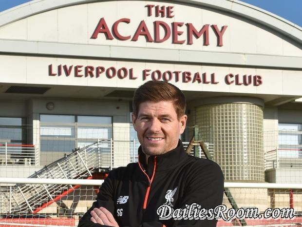 Liverpool FC - Steven Gerrard returns to Liverpool in Academy Coaching Role