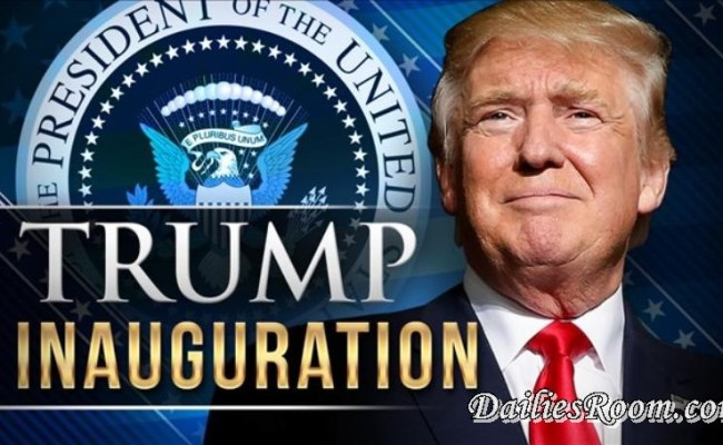 Inauguration Day - President Donald trump inauguration ceremony | US 45th President