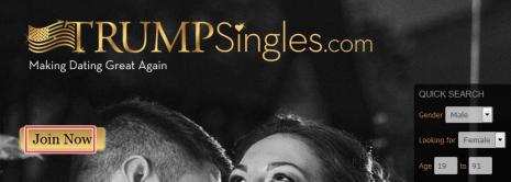 Sign Up for TrumpSingles | Create TrumpSingles Account free | Trump dating site | www.trumpsingles.com