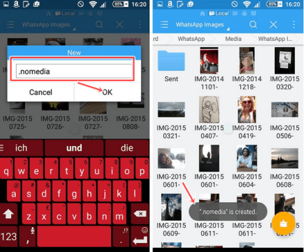 How you can hide Whatsapp photos from your phone Gallery in Android