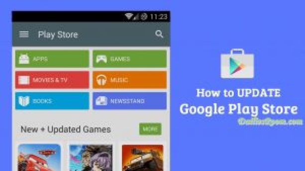 How to Update Google Play Store App on Android Device - Android Google Play store