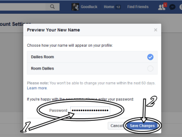 Change Facebook Profile Name   Guide to Change FB.com Account Name Fast